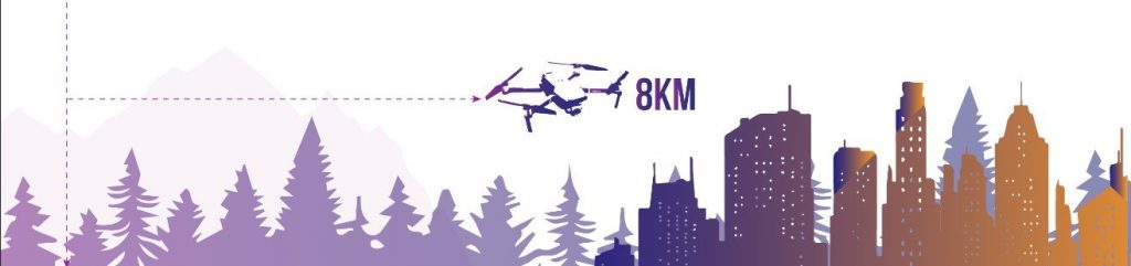 8km long range drones category