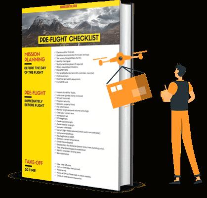 drone pre flight checklist png