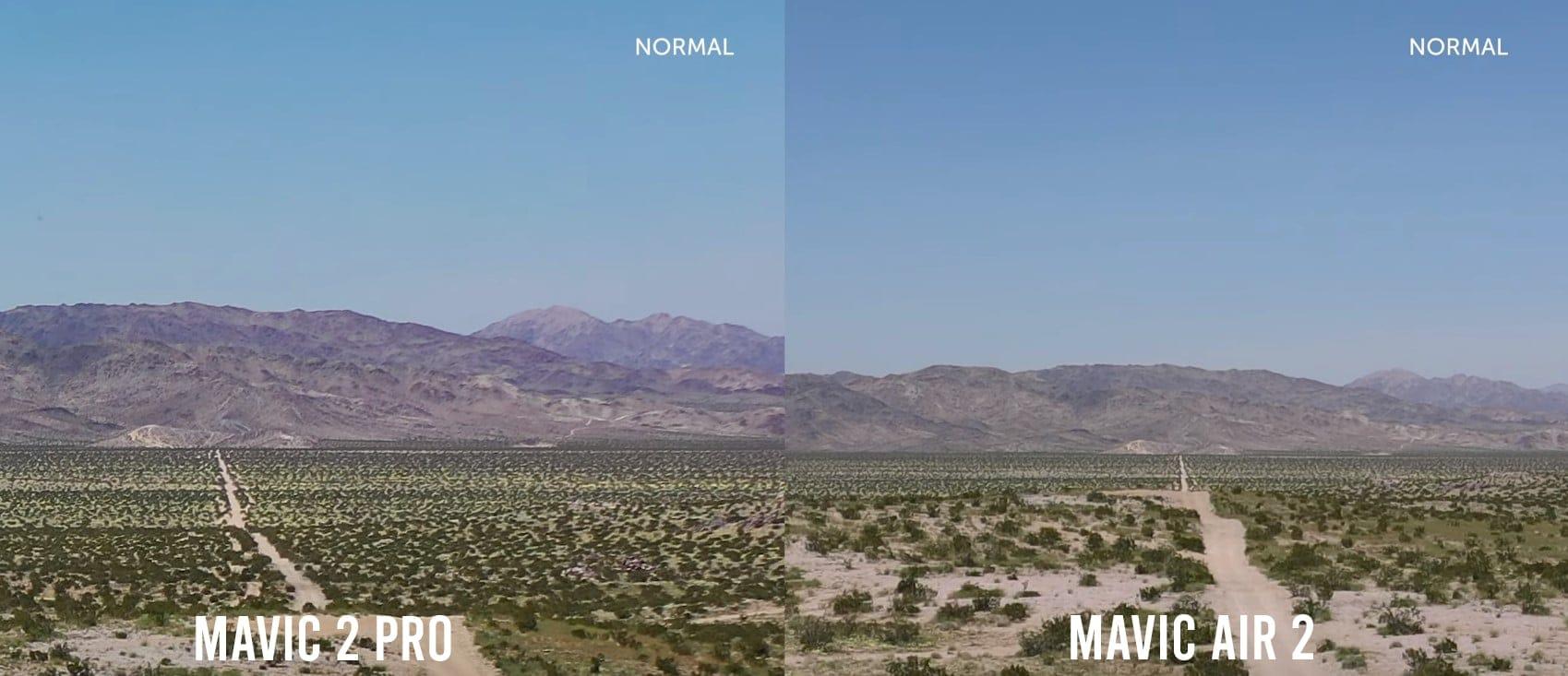 mavic air 2 vs mav 2 pro shot comparison