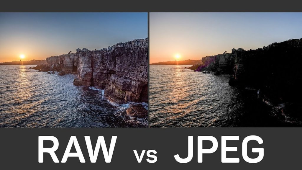 raw vs jpeg photo