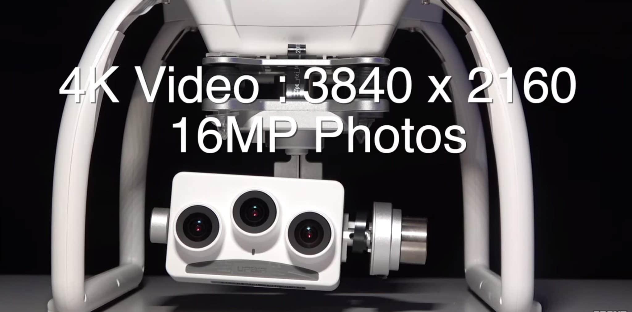 4k 3d ultrasonic cameras for fpv