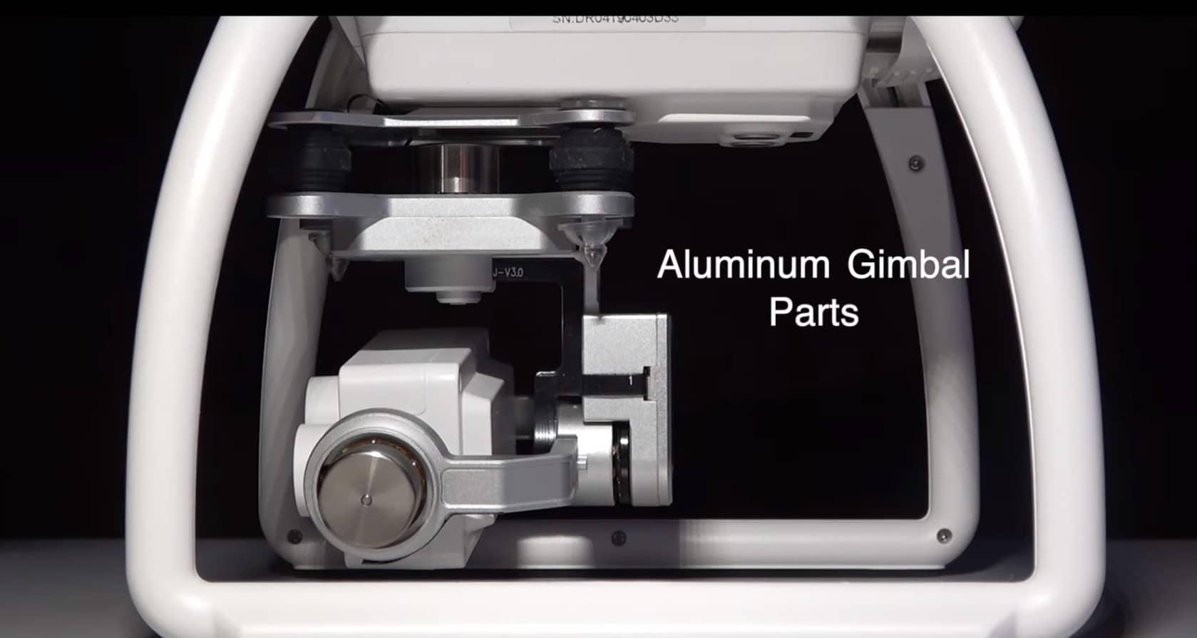 aluminum gimbal parts