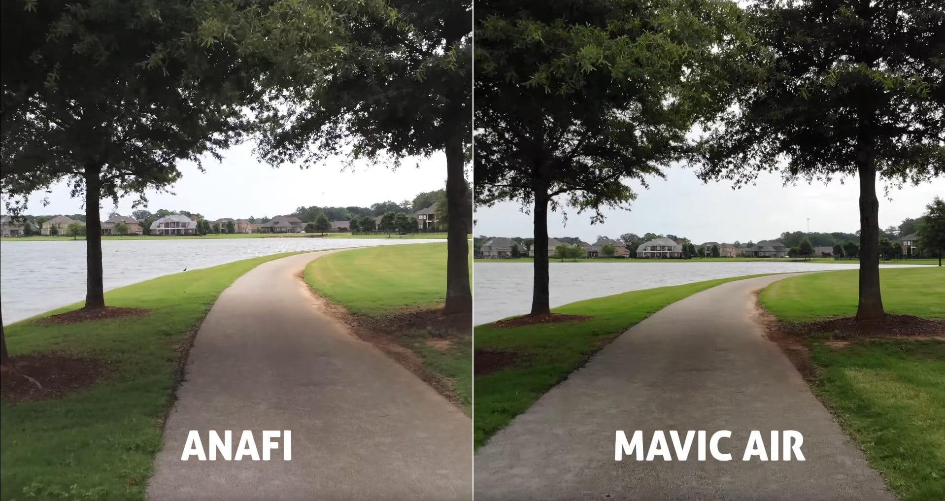 anafi vs mavic air shot 2