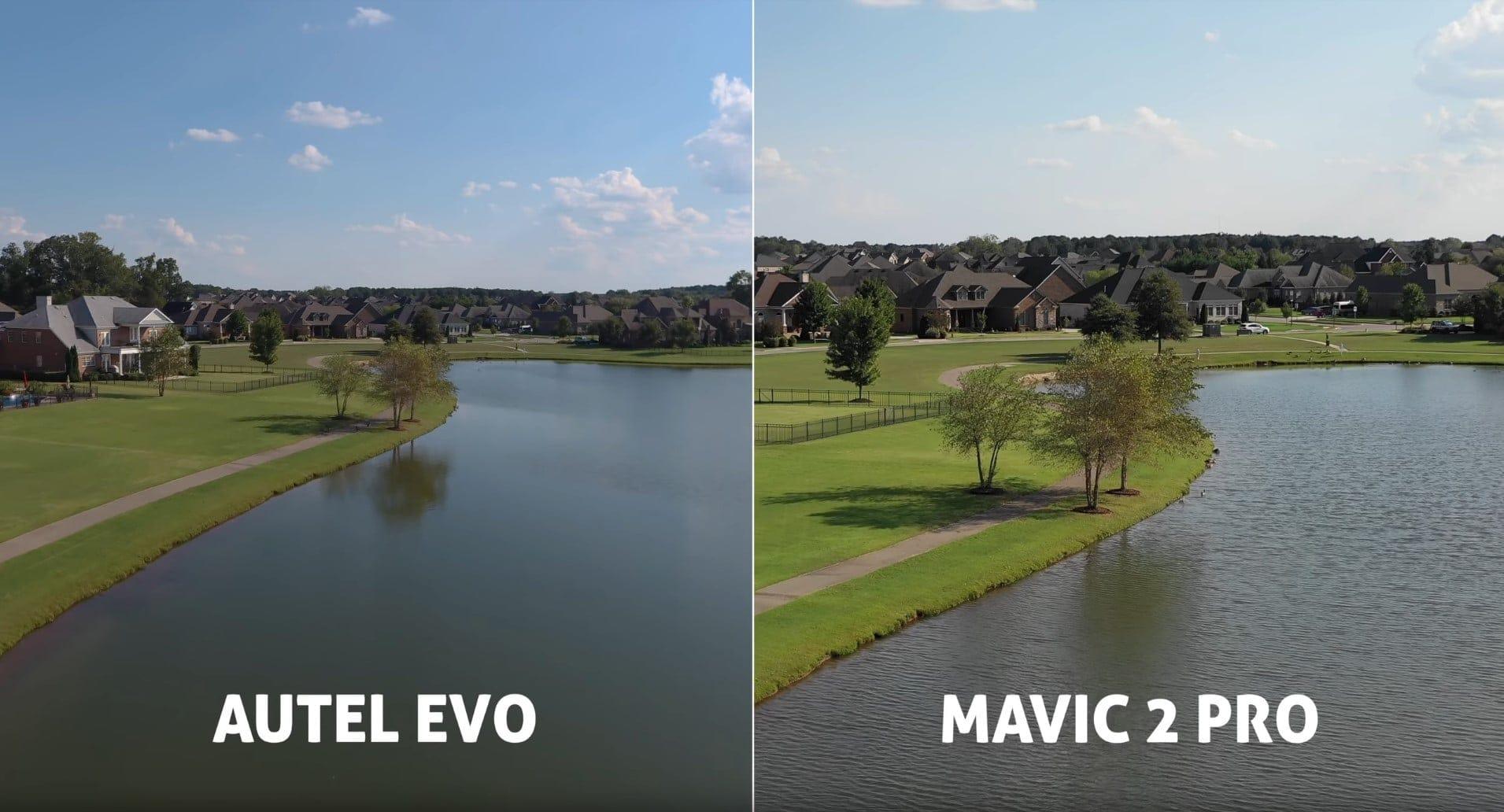 autel evo vs Mavic 2 pro