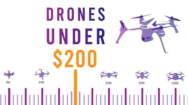 best drones under 200 1