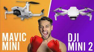 dji mini 2 review vs the Mavic Mini