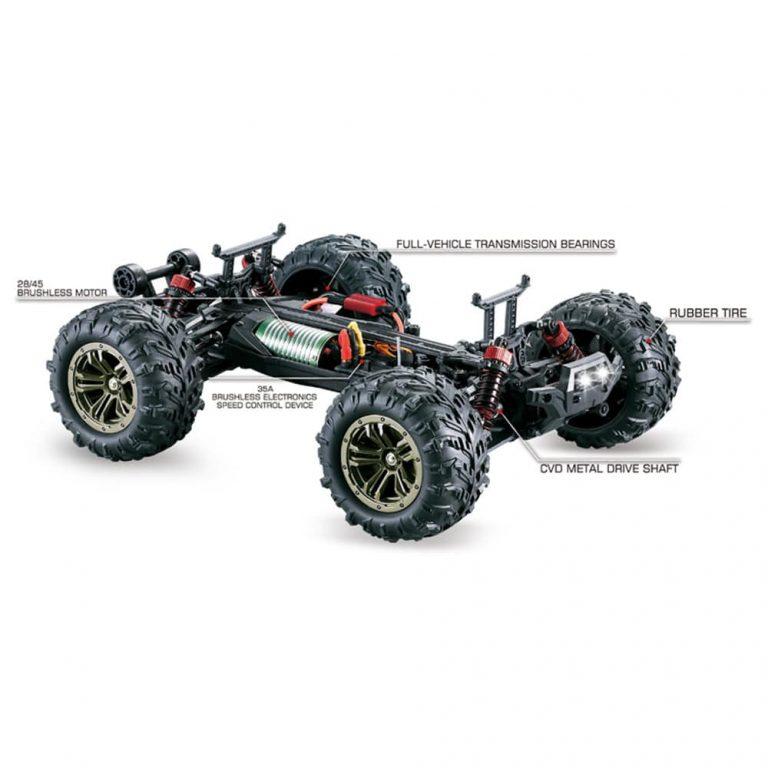 geekbuying Xinlehong Toys Q901 Brushless RC Car RTR Red 782556