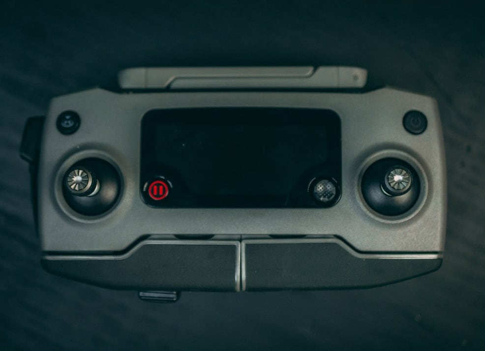 mavic 2 controller from top