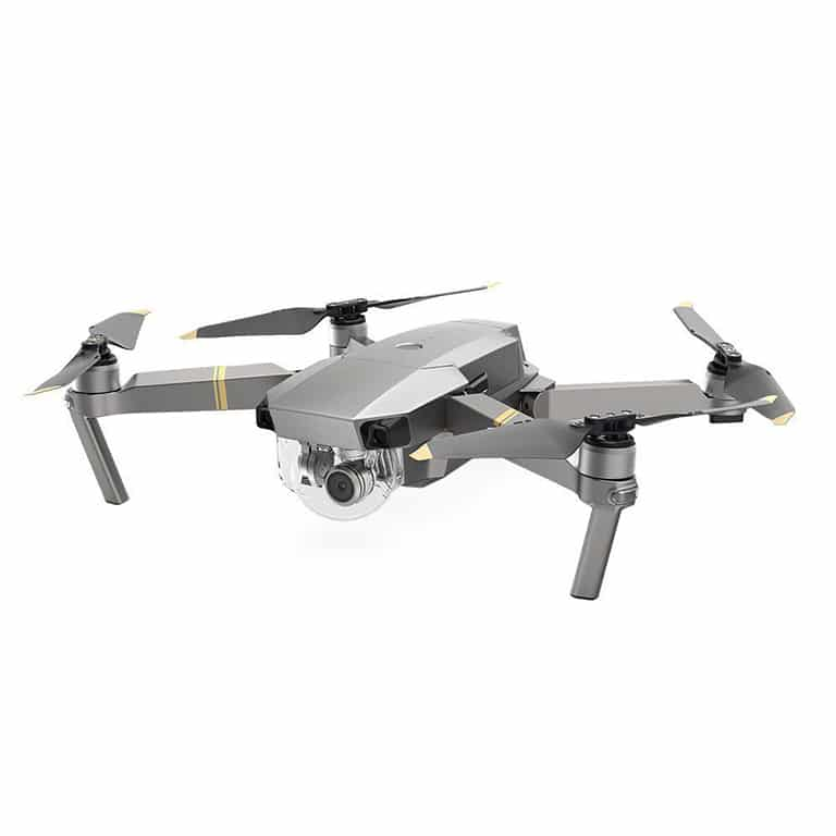 mavic pro platinum silent drone