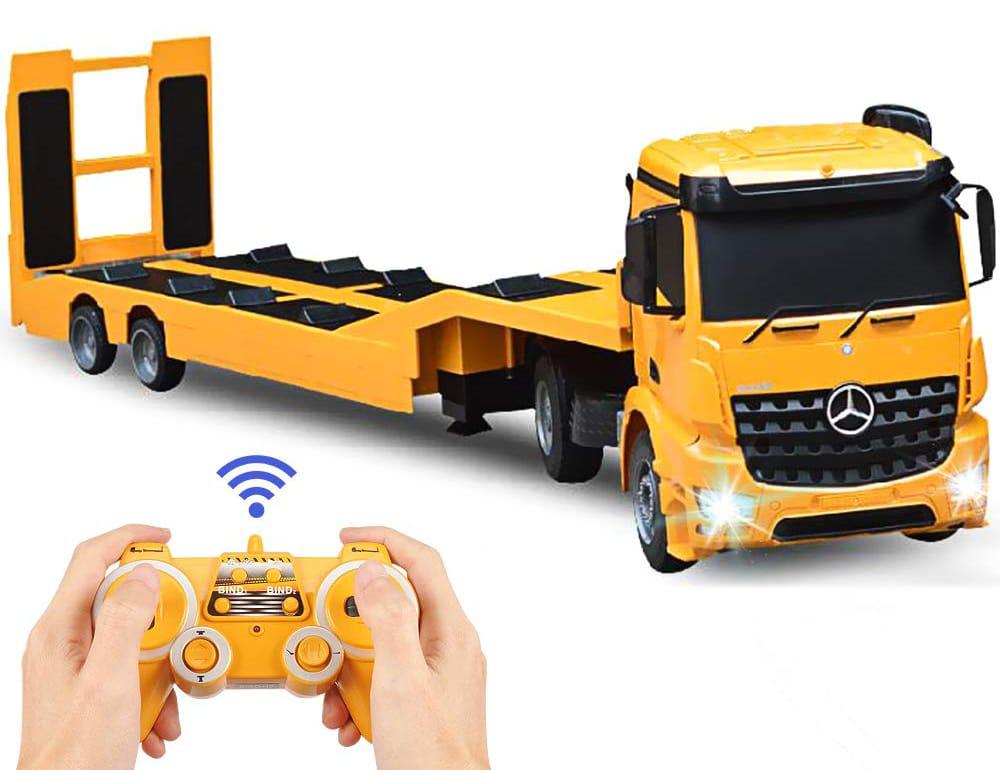 mercedes benz rc semi truck