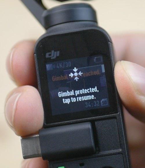osmo gimbal protection