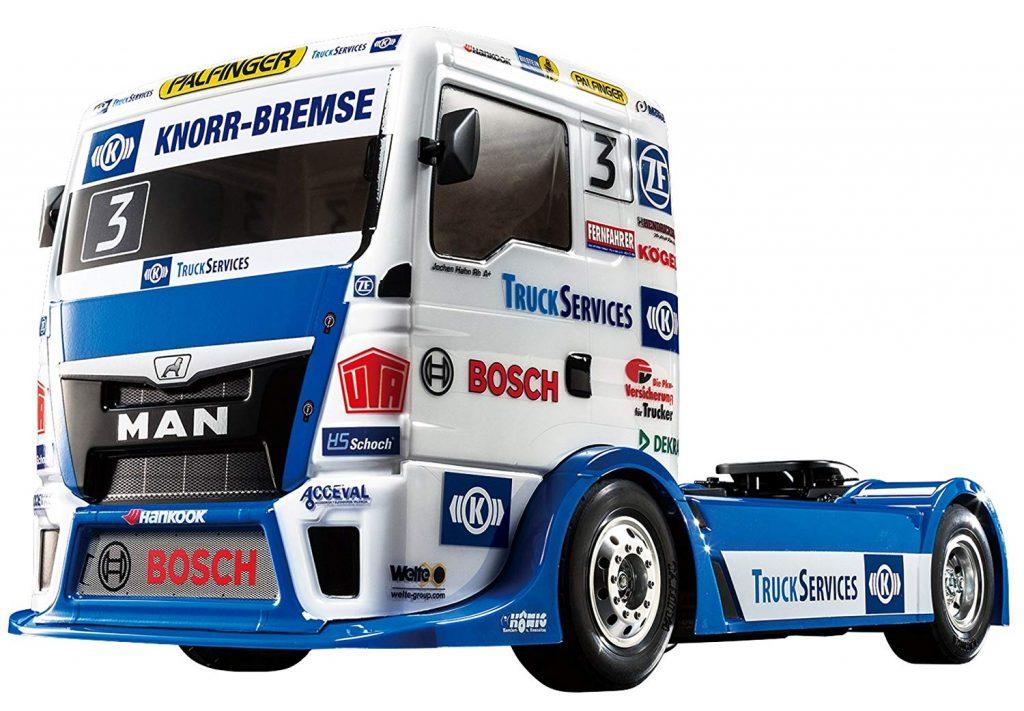 tamiya rc racing semi truck