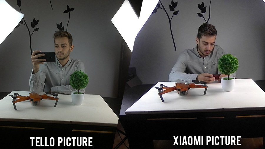 tello vs xiaomi picture