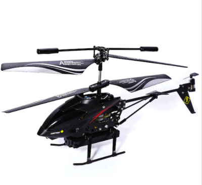 S977 Metal Gyro RC Helicopter Drone