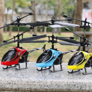 RC helicopter drone design