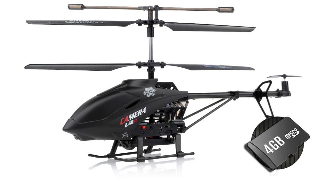XHeli RC drone helicopter