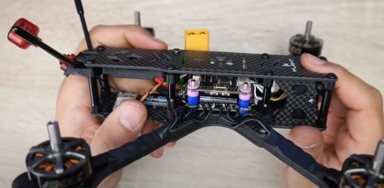 add the top carbon fiber part