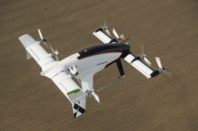 airbus vahana manned vtol drone