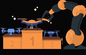 best-drones-podium-arm