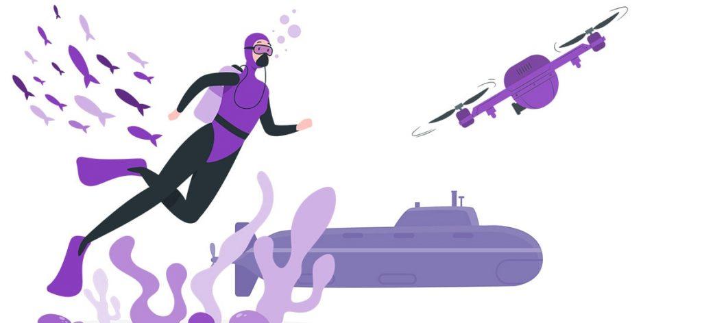 best underwater drones