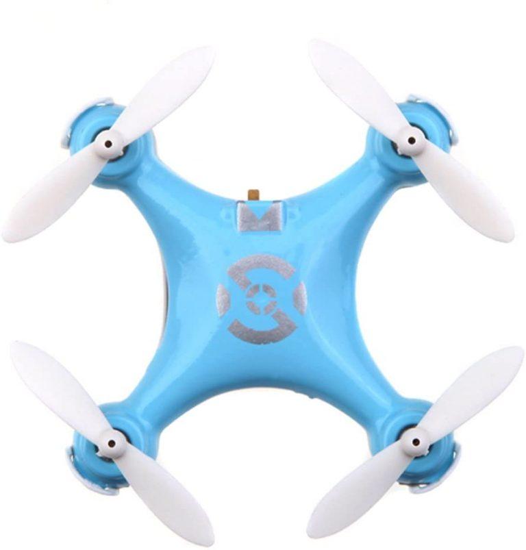 blue color drone