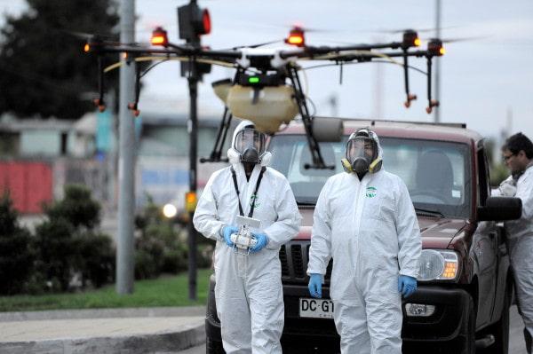 drones help in pandemic