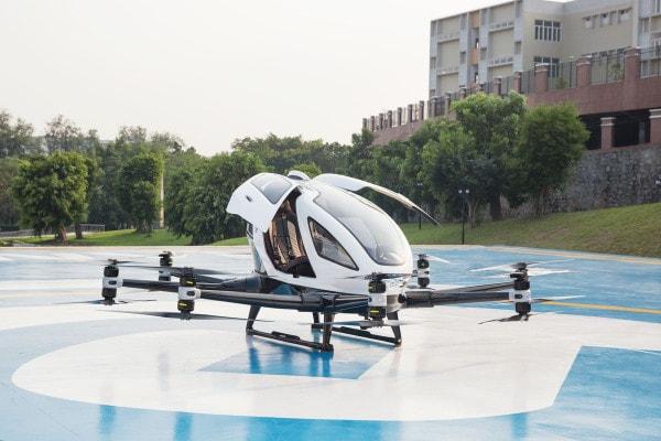ehang drone car