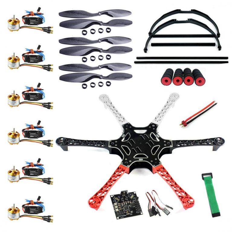 f550 drone kit assembly