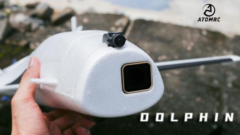 fixed wign plane drone with fpv camera mounted