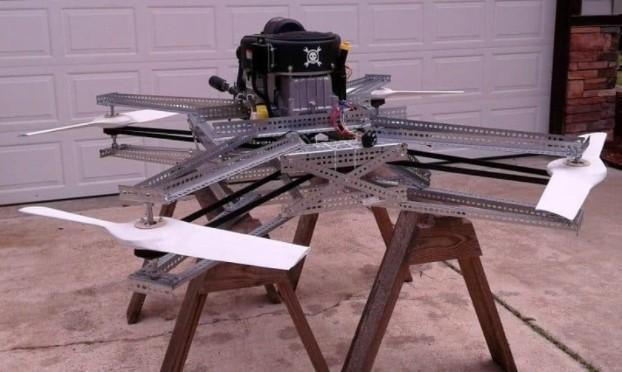 goliath gas powered drone