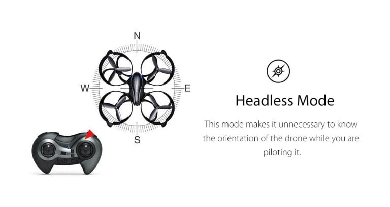 headless mode of drone