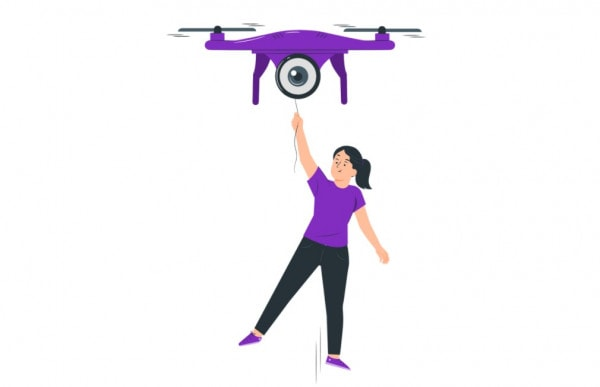 how much weight can drones lift