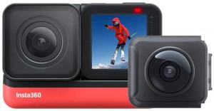 insta 360 one R camera for drone