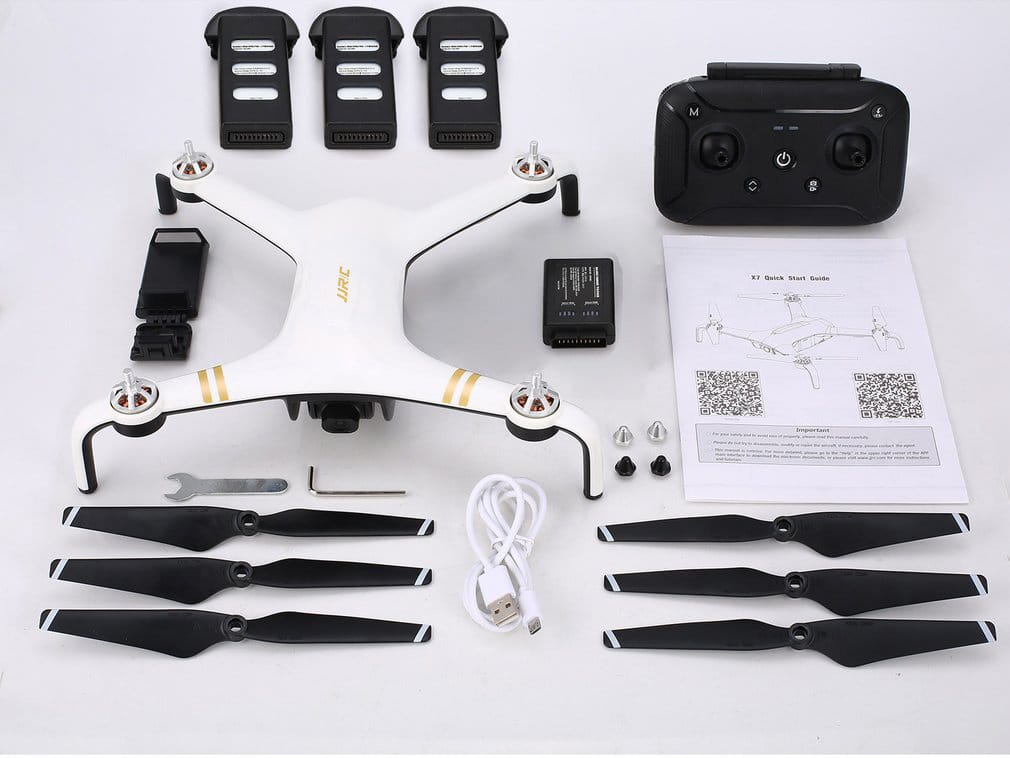 jjrc x7 full package