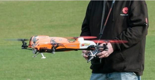 nitro stingray gas powered drone