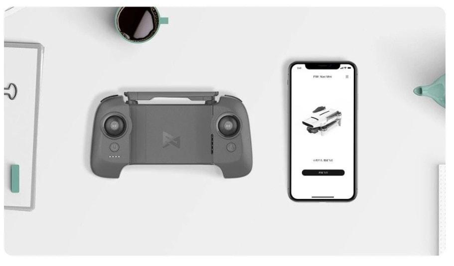 remote controller and app of fimi x8 mini