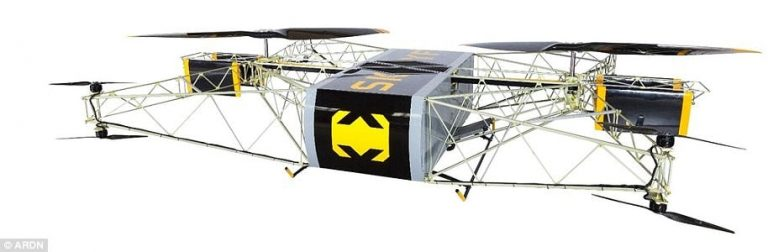 skyf drone that can lift the heaviest weight