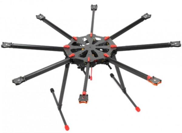 tarot x8 folding octocopter
