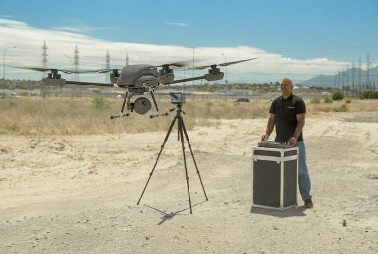 vanguard drone