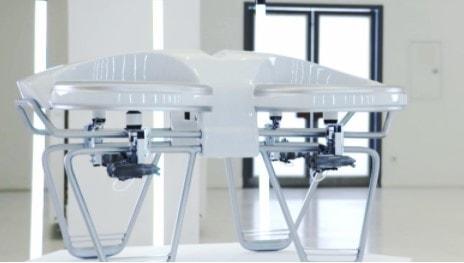 yiair hybrid gas powered drone